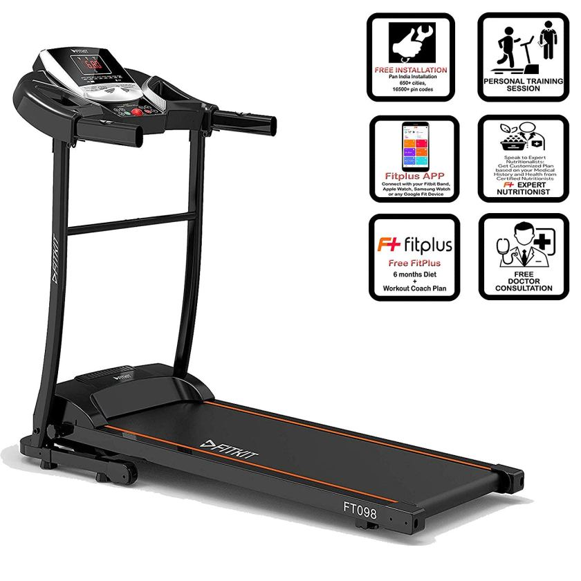 One of the best treadmill in top 5 best treadmill or home jogging machine under 40000 in India.